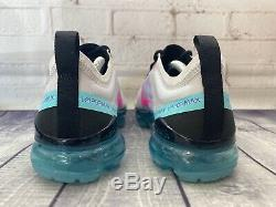 Nike Air Vapormax 2019 South Beach Rose Teal Chaussures Des Femmes De Taille 8 Ar6632-005 Nouveau