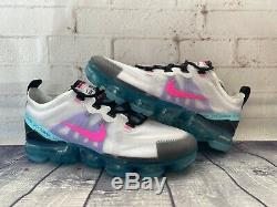 Nike Air Vapormax 2019 South Beach Rose Teal Taille Des Chaussures Des Femmes 9 Ar6632-005 Nouveau