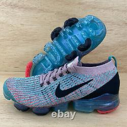 Nike Air Vapormax Flyknit 3 Femmes Sz 12 Chaussures De Course South Beach
