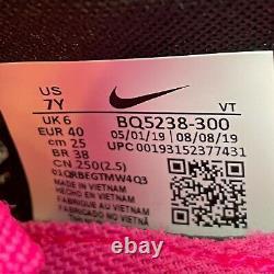 Nike Air Vapormax Flyknit 3 Gs Sz 7y Taille Femme 8.5 South Beach Bq5238-300