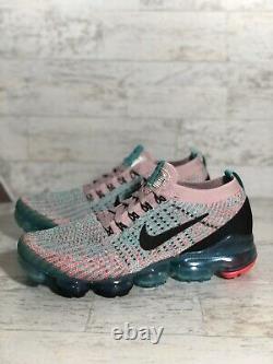 Nike Air Vapormax Flyknit 3 South Beach Aj6910-500 Womens Taille 8 No LID