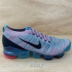 Nike Air Vapormax Flyknit 3 South Beach Femmes Sz 12 Chaussures Nouveau Rare
