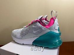 Nike Femme Air Max 270 Grey Pink White South Beach 2019 Ah6789-065 Taille 5.5