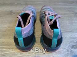 Nike Femmes Air Vapormax Flyknit 3 Plum Chalk South Beach Aj6910-500 Taille 12