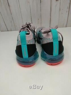 Nike Femmes Air Vapormax Flyknit 3 Plum Chalk South Beach Aj6910 500 Taille 7.5