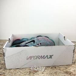 Nike Femmes Air Vapormax Flyknit 3 Plum Chalk South Beach Aj6910 500 Taille 7,5