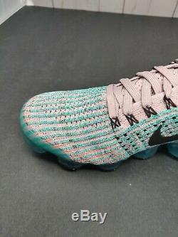 Nike Femmes Air Vapormax Flyknit 3 Plum Chalk South Beach Aj6910 500 Taille 8