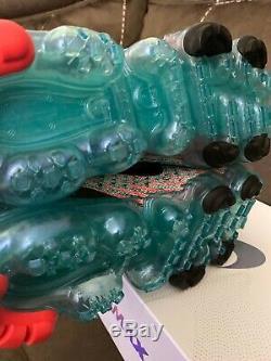 Nike Femmes Air Vapormax Flyknit 3 South Beach Plum Chalk Taille 5 500 Aj6910
