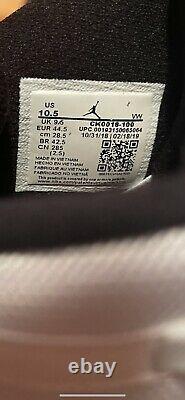Nike Homme 10.5 Air Jordan 6 Six Rings Chaussures Blanches/ Blue South Beach Ck0018-100