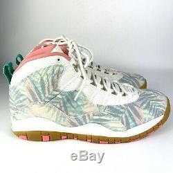 Nike Jordan 10 Retro Super Bowl LIV Cv9776-900 Limited South Miami Beach 12