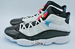 Nike Jordan 6 Anneaux De Basket-ball Chaussures South Beach Blanc Ck0017-100 Taille 10.5