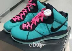 Nike Labron 8 Qs Retro 2021 South Beach Taille 12
