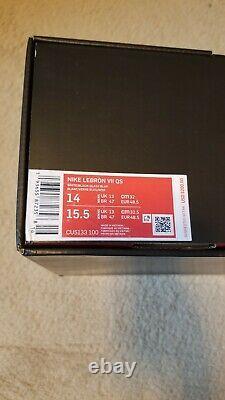 Nike Lebron 7 Retro Red Carpet Taille 14 15 13 Mvp Media Day Lakers Dunkman Sud