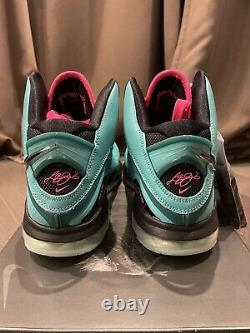 Nike Lebron 8 South Beach 2021 Cz0328-400 Hommes Taille 11 (brand New)