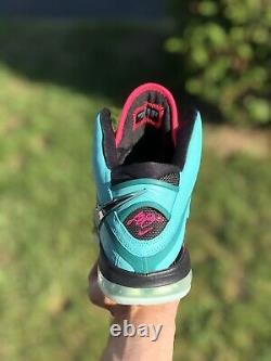 Nike Lebron 8 South Beach (2021) Cz0328-400 Taille 11.5