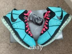 Nike Lebron 8 South Beach (2021) Cz0328-400 Taille 11 Brand New In Hand! Navires