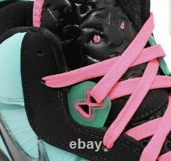 Nike Lebron 8 South Beach 2021 Taille 12.5 Cz0328-400 Commande Rétro Confirmée