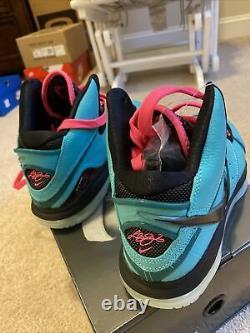 Nike Lebron 8 South Beach 2021! Taille Des Hommes 11 (marque Nouvelle)