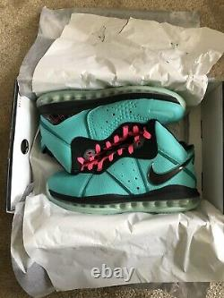 Nike Lebron 8 South Beach Cz0328-400 Taille 8 In Hand Offre Bienvenue