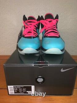 Nike Lebron 8 South Beach Qs Teal Rose 2021 Hommes Taille 9.5 Cz0328-400 Neuf
