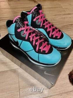 Nike Lebron 8 VIII South Beach 2021 Cz0328-400 Taille 12 Deadstock (en Main)
