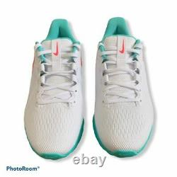 Nike Réaction Infinity Pro Golf South Beach White Punch Vert Taille 10.5 Ct6620-177