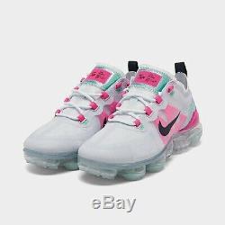 Nike Vapormax 2019 South Beach Gris Rose Obsidian Ar6632 007 Femmes Taille 8
