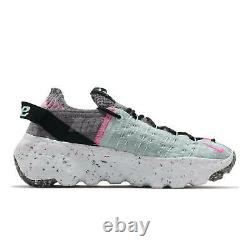 Nike Wmns Space Hippie 04 South Beach Gris Rose Femmes Chaussures Casual Cd3476-003