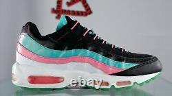 Nouveau Nike Air Max 95 Miami Vice Taille 10 330795 011 Black White South Beach