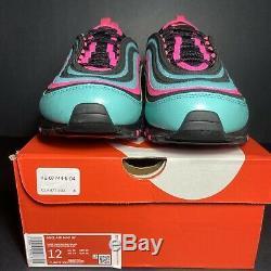 Nouveau Taille 12 Nike Air Max 97 South Beach Autre Hyper Turquoise Cu4877-300