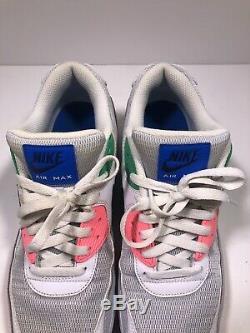 Rare Nike Air Max 90 Essential Plage Pastèque / Sud Taille 11 Aj1285-100