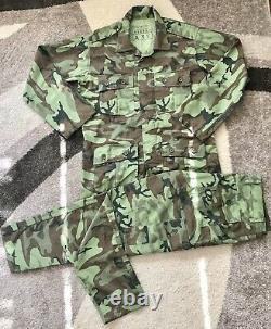 Repro South Vietnam Arvn Camo Uniforme Ranger Airborne Erdl Slim Cut