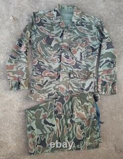 Rok Advisor Noodle Uniform Camo Sud-coréen Arvn Sog Tiger Stripe Camouflage