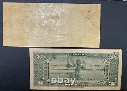 South Viet Nam Proof Banknote P14. Avant/arrière