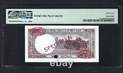 South Vietnam 1 Dong Nd(1964) Spécimen P15s2 Non Circulé Grade 67
