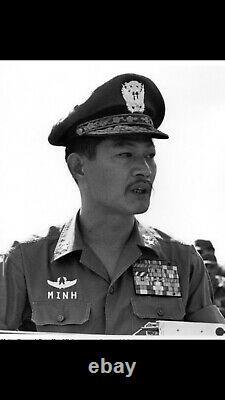 South Vietnam Airforce General Tran Van Minh Cap Taille 56