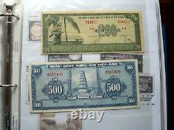 South Vietnam Complete Coins/banknote Collection En Album. Lire La Description