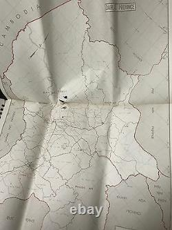 South Vietnam Octobre 1969 Version Anglaise Rare 39 Maps In Book Useful