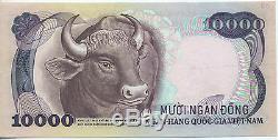 Sud Vietnam 10 000 Dong Buffalo (1975) P. # 36a Xf-aunc