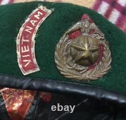 Sud Vietnam Marine Corps Tqlc Béret Vert Taille 58