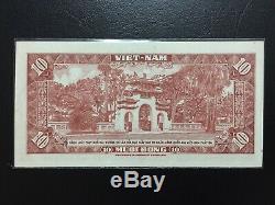 Sud-vietnam 10 Dong 1962 Pioche 5a Unc Fancy Numéro De Série 998899