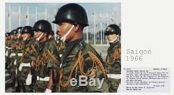 Sud-vietnam Holster 1973 Cuir Et Jaune Fourragère 1966 Marines
