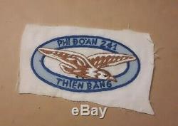 Sud-vietnamiens D'origine Arvn Afvn 241e Patch Escadron De La Force Aérienne Guerre Du Vietnam