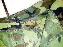 Sud-vietnamiens D'origine Arvn Erdl Pantalon Camo Estampillé Guerre Du Vietnam
