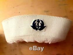 Sudvietnamiens Arvn Marine Sailor Cap Vietnam Original War