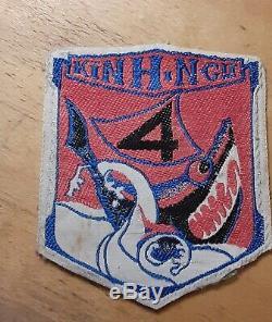 Sudvietnamiens Marine Arvn Originale 4e Patch Bataillon Vnmc Guerre Du Vietnam