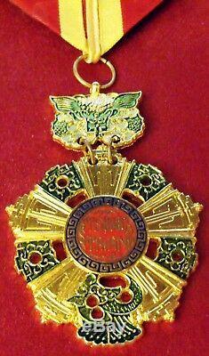 Sudvietnamiens Ordre National, Commandant Ou Troisième Classe Cou Ordre Style B