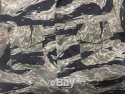 Sudvietnamiens Tiger Stripe Shirt Original War Vietnam (mike Force)