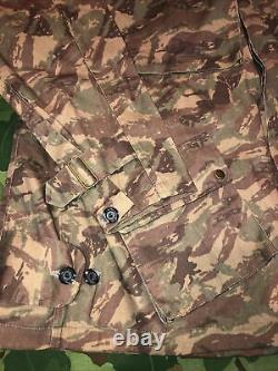 Tap Tap 47/52 Para Lizard Camo Jacket Sadf African Africain Vietnam XL 32bn