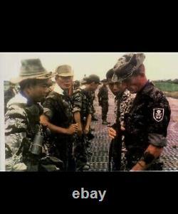 Tiger Stripe Chemise Sud-vietnamien D'origine Guerre Vietnam (mike Force)